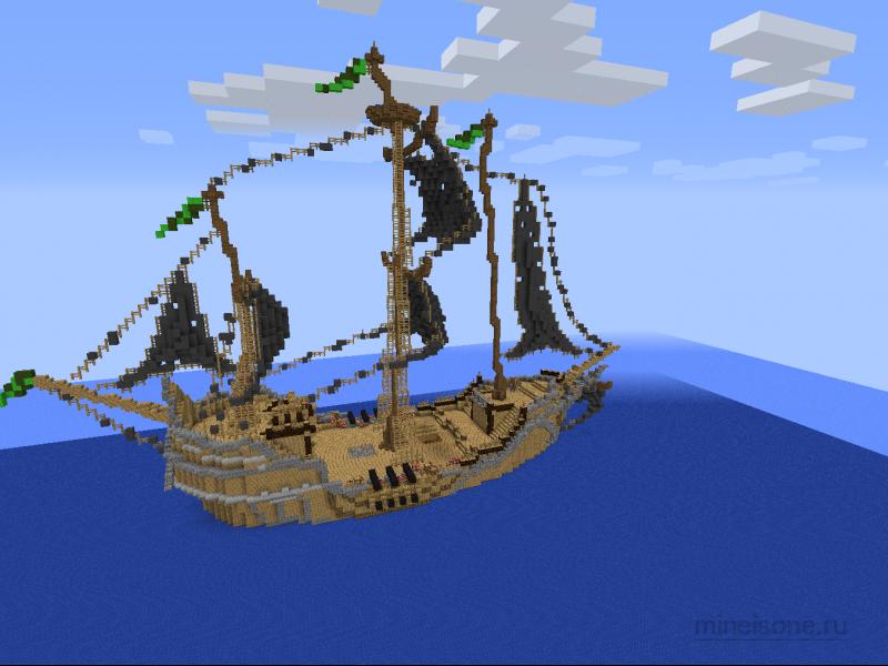 Пиратский Корабль Скачать Карту - фото 9