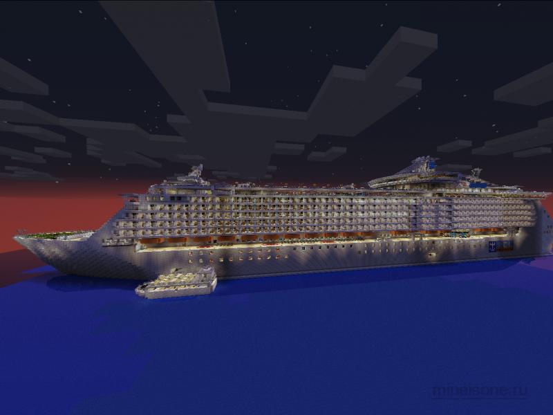 Скачать карту корабль для майнкрафта 1 5 1 - Скачать ...