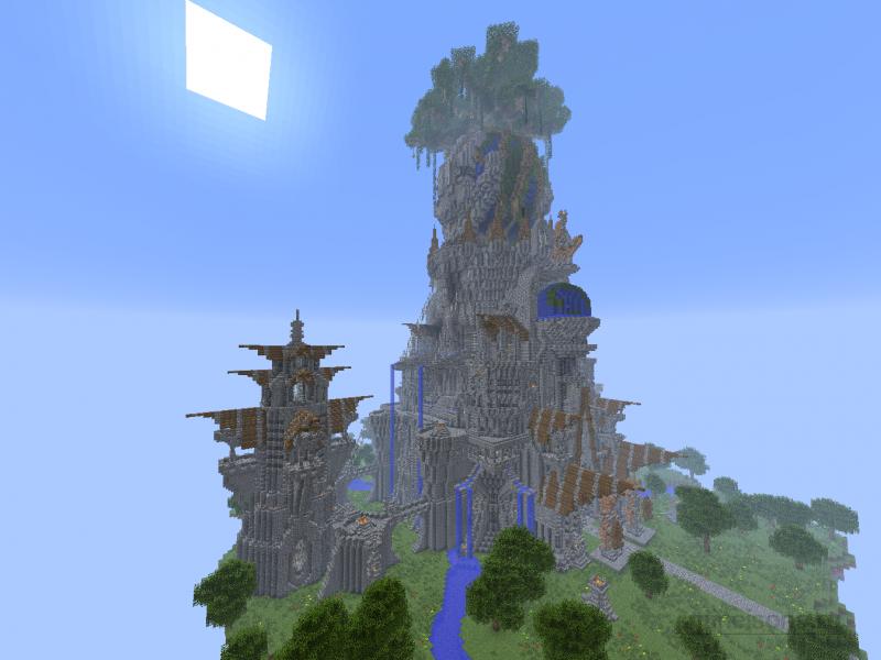 Как сделать свой остров в minecraft 639