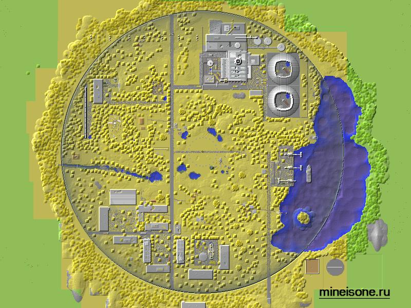 Обзор На Карту Чернобыль Minecraft