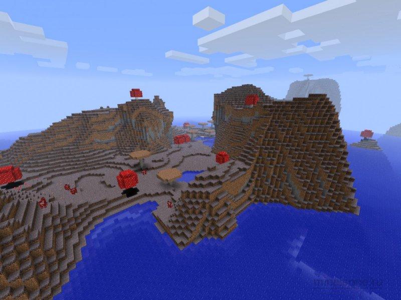 Minecraft как сделать гриб фото 632