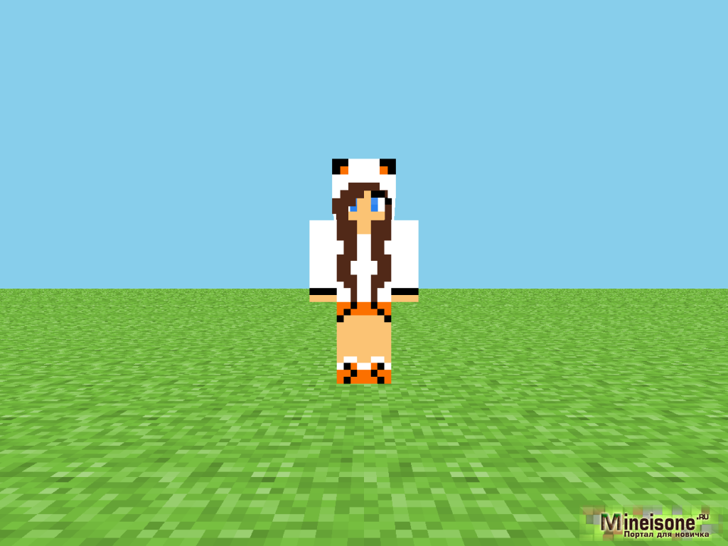 Minecraft 1.5.2 Скин Крутой Парень