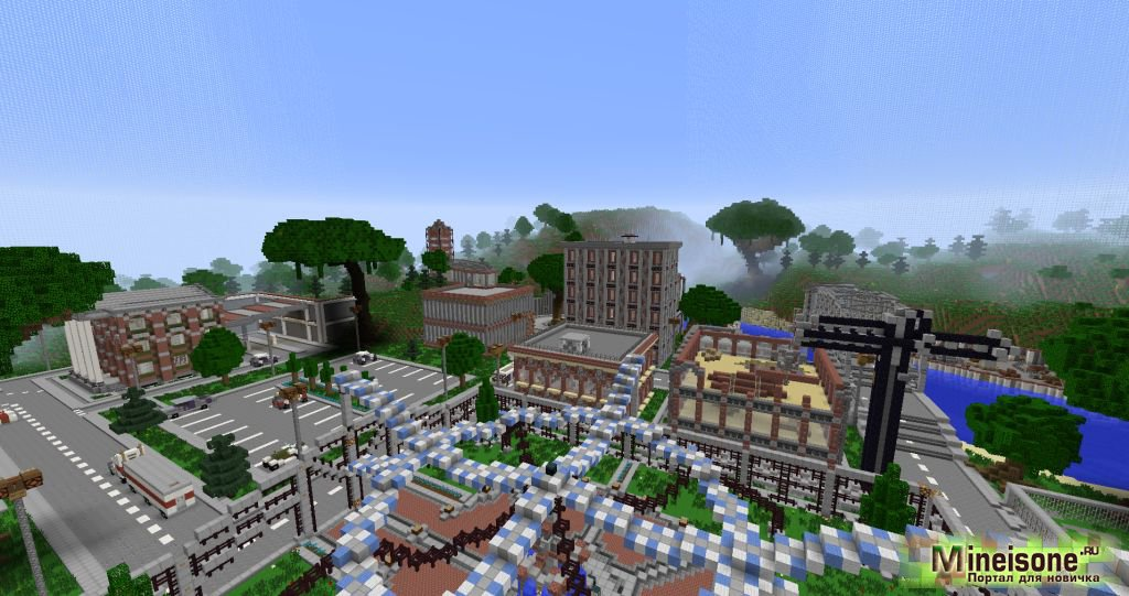скачать карту для майнкрафт современная деревня - фото 2