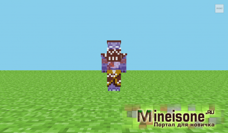 Скин Witch Doctor Minecraft