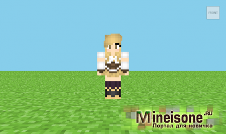 Скин Mami Tomoe Minecraft